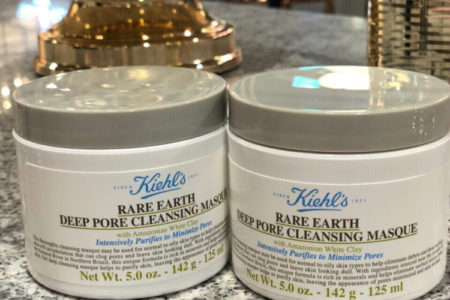 WechatIMG18 1 450x300 - KIEHL'S RARE EARTH DEEP PORE CLEANSING MASK 2018 REVIEW