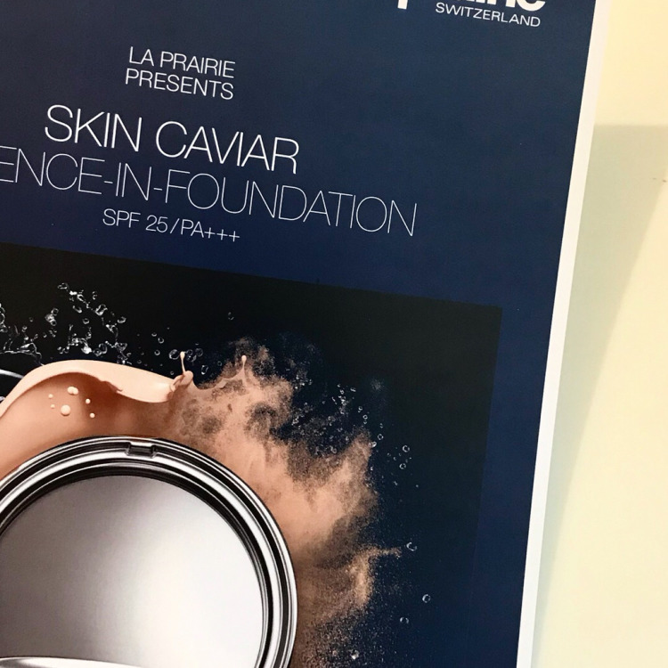 WechatIMG25 - La Prairie Skin Caviar Essence-in-Foundation 2019 REVIEW