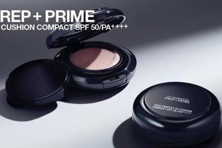 MAC PREP PRIME UV CUSHION COMPACT FOR MAY 2019 450x300 - MAC Prep+Prime UV Cushion Compact For Summer 2019
