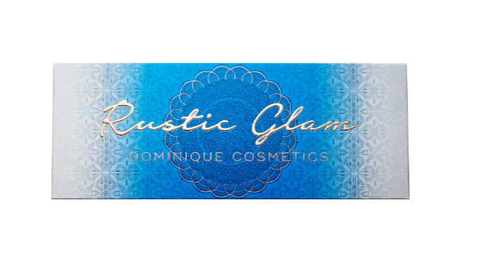 DOMINIQUE COSMETICS RUSTIC GLAM EYESHADOW PALETTE FOR SUMMER 2019 2 - DOMINIQUE COSMETICS RUSTIC GLAM EYESHADOW PALETTE FOR SUMMER 2019