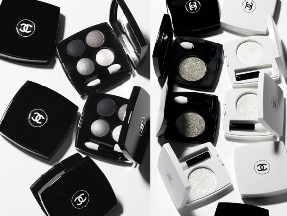 CHANEL BLACK AND WHITE FALL WINTER 2019 MAKEUP COLLECTION - CHANEL BLACK AND WHITE FALL WINTER 2019 MAKEUP COLLECTION
