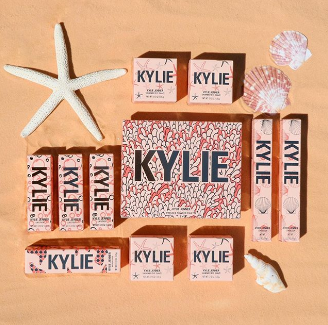 kylie cosmetics under the sea collection for summer 2019