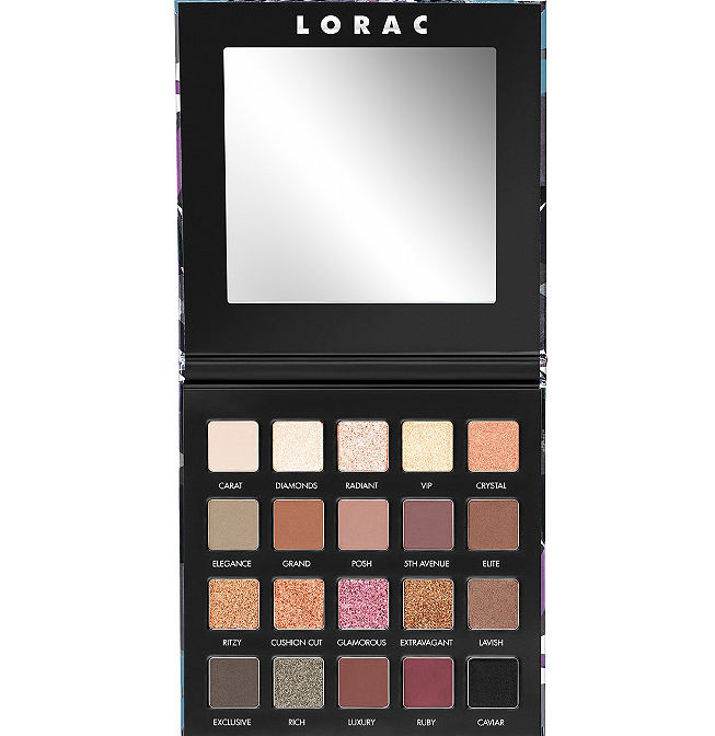 LORAC LUX DIAMOND PALETTE LUX DIAMOND CREME EYESHADOW FOR 2019 2 - LORAC LUX DIAMOND PALETTE & LUX DIAMOND CREME EYESHADOW FOR 2019