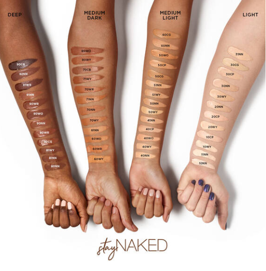 URBAN DECAY STAY NAKED FALL 2019 COLLECTION 2 - URBAN DECAY STAY NAKED FALL 2019 COLLECTION