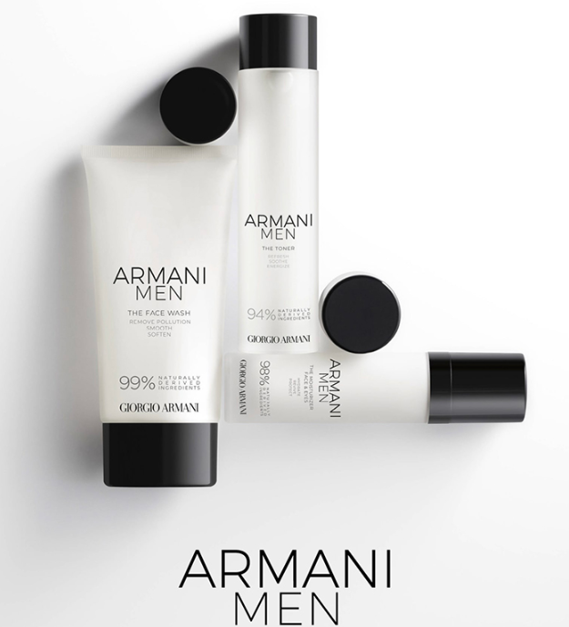 ARMANI MEN SKINCARE FALL 2019 COLLECTION - ARMANI MEN SKINCARE FALL 2019 COLLECTION