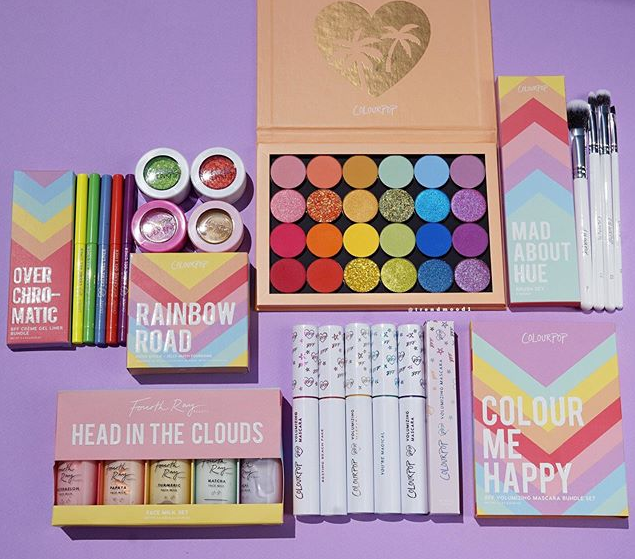 COLOURPOP COSMETICS RAINBOW COLLECTION FOR 2019 - COLOURPOP COSMETICS RAINBOW COLLECTION FOR 2019