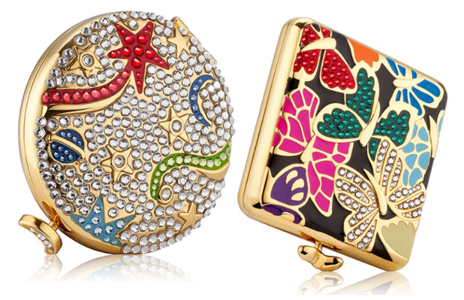 ESTEE LAUDER HOLIDAY 2019 COMPACTS BY MONICA RICH KOSANN - ESTEE LAUDER 2019 Christmas Holiday Collection