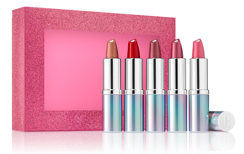 Clinique Kisses Holiday 2019 Lipstick Set 1 - CLINIQUE 2019 Christmas Holiday Collection