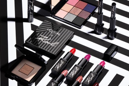 KARL LAGERFELD x LOREAL PARIS MAKEUP COLLECTION FOR FALL 2019 450x300 - KARL LAGERFELD x L'OREAL PARIS MAKEUP COLLECTION FOR FALL 2019