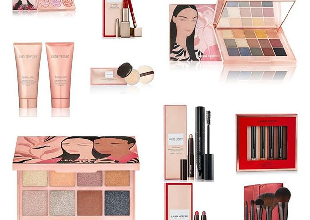 LAURA MERCIER MAKEUP COLLECTION FOR HOLIDAY 2019 634x450 - LAURA MERCIER 2019 Christmas Holiday Collection
