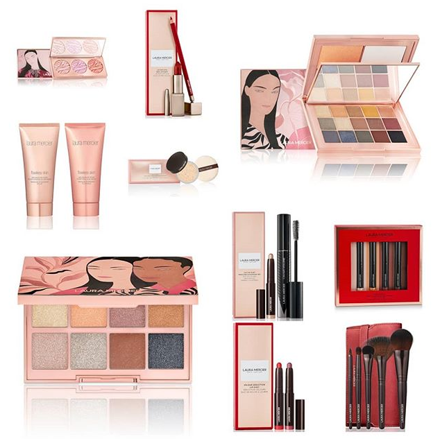 LAURA MERCIER MAKEUP COLLECTION FOR HOLIDAY 2019 - LAURA MERCIER 2019 Christmas Holiday Collection