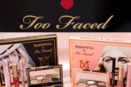 MADONNA x TOO FACED MAKEUP COLLECTION 450x300 - MADONNA x TOO FACED MAKEUP COLLECTION