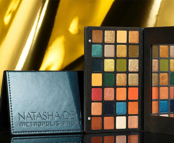 NATASHA DENONA METROPOLIS EYESHADOW PALETTE FOR HOLIDAY 2019 - NATASHA DENONA 2019 Christmas Holiday Collection