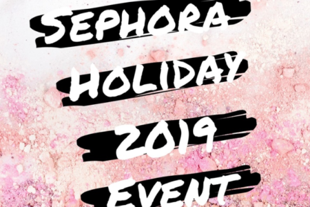 SEPHORA HOLIDAY 2019 ROUGE PREVIEW EVENT STARTS SEPTEMBER 14TH  450x300 - SEPHORA HOLIDAY 2019 ROUGE PREVIEW EVENT STARTS SEPTEMBER 14TH