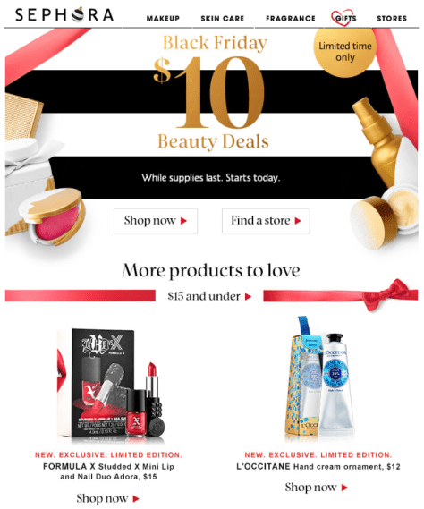 Sephora Black Friday 2015 Ad Page 1 - Sephora Black Friday 2019 is coming