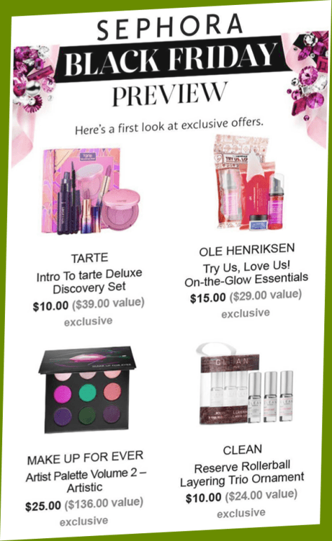 Sephora Black Friday 2016 Flyer Page 1 - Sephora Black Friday 2019 is coming