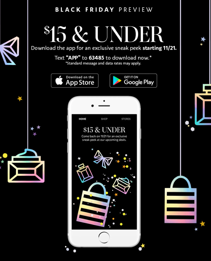 Sephora Black Friday 2019 pre - Sephora Black Friday 2019 is coming