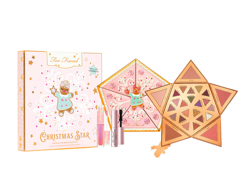 Too Faced Christmas Star Face Eye Palette - TOO FACED 2019 Christmas Holiday Collection