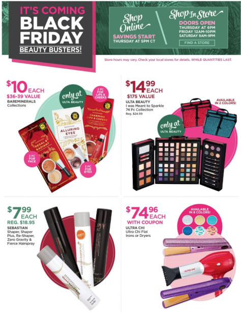 Ulta Black Friday 2015 Ad Page 1 - Ulta Beauty Black Friday 2019
