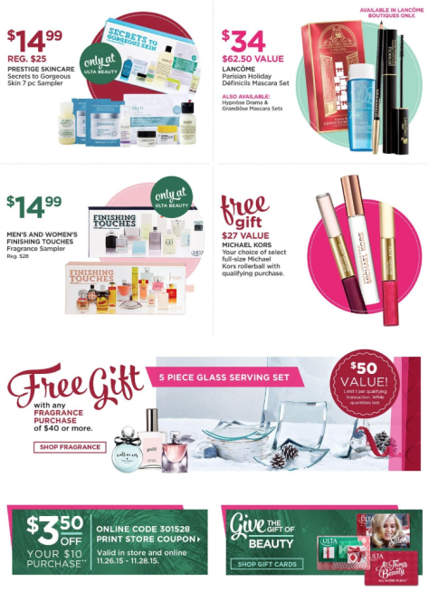 Ulta Black Friday 2015 Ad Page 9 - Ulta Beauty Black Friday 2019