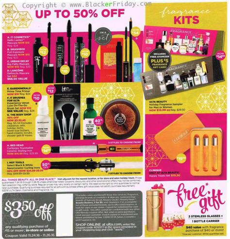Ulta Black Friday 2016 ad page 4 - Ulta Beauty Black Friday 2019