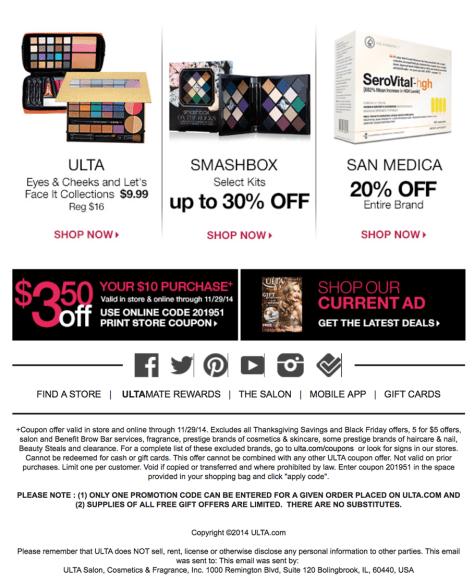Ulta black friday ad scan page 5 - Ulta Beauty Black Friday 2019