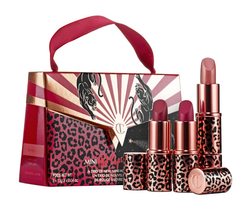 CHARLOTTE TILBURY HOT LIPS 2 MINI LIP SET - Sephora Luxe Sets for Holiday 2019