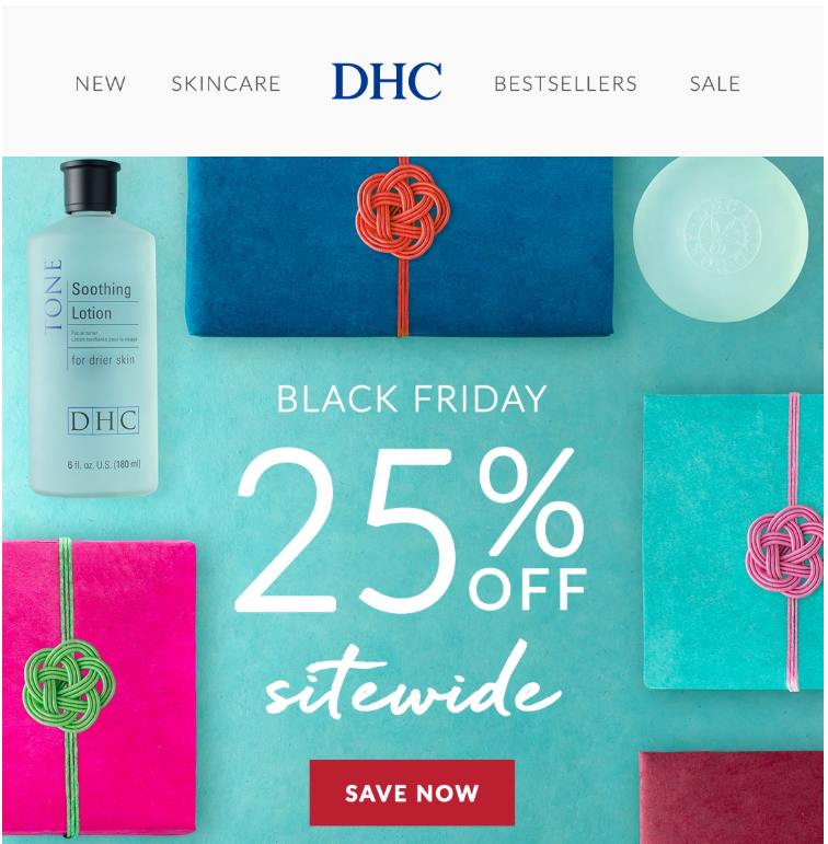 DHC Beautys Black Friday Sale 2019 1 - DHC Beauty Black Friday 2019