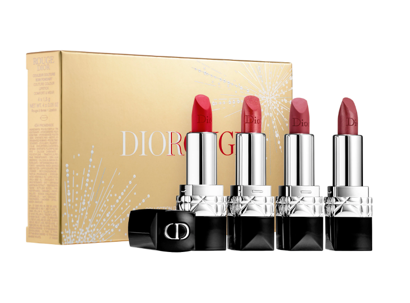 DIOR ROUGE DIOR LIPSTICK MINI SET - Sephora Luxe Sets for Holiday 2019