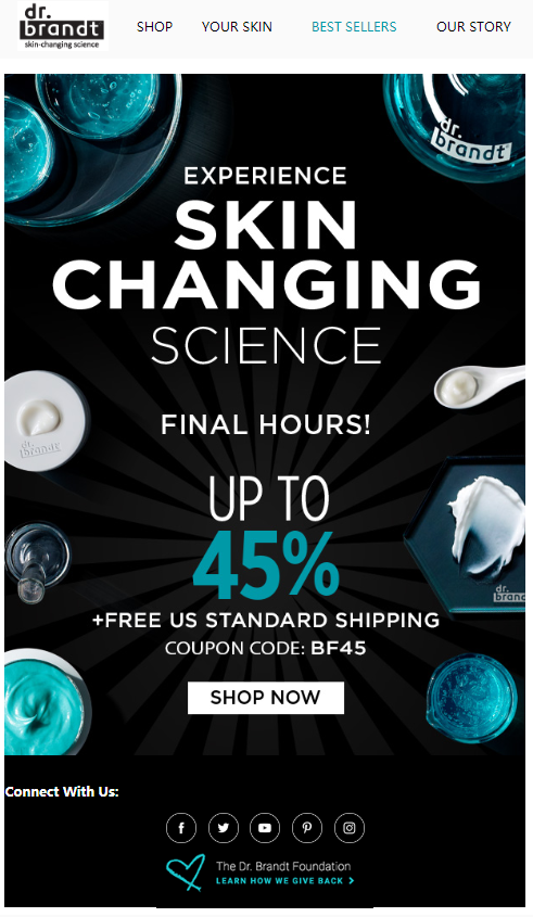 Dr. Brandt Skincare Black Friday 2018 - Dr. Brandt Skincare Black Friday 2019