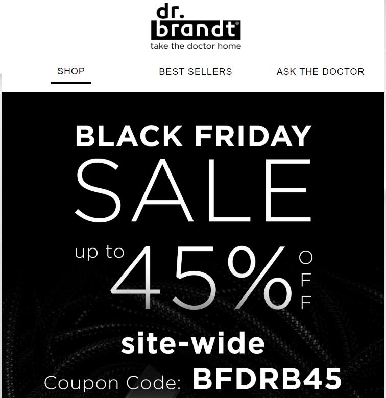 Dr. Brandt Skincares Black Friday Sale 2019 1 - Dr. Brandt Skincare Black Friday 2019