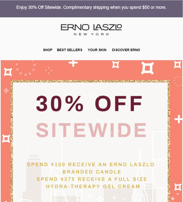 Erno Laszlos Black Friday Sale 2019 1 - Erno Laszlo Black Friday 2019