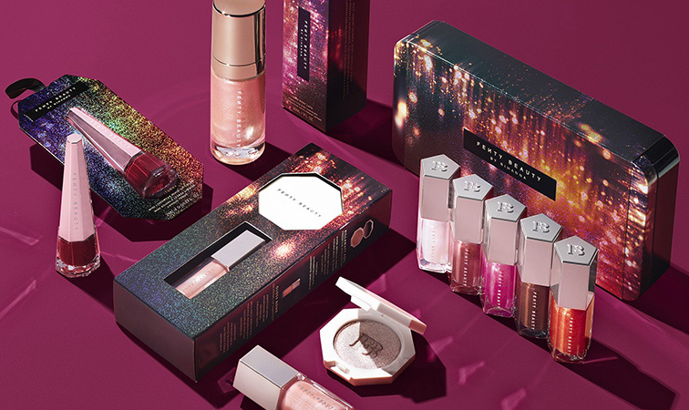FENTY BEAUTY TINSEL HOW 2019 Christmas Holiday Collection 756x450 - FENTY BEAUTY TINSEL $HOW 2019 Christmas Holiday Collection