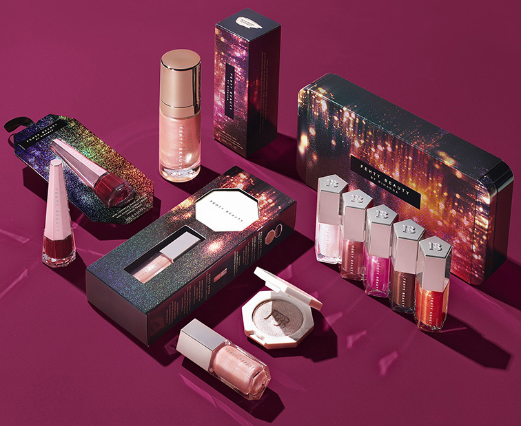 FENTY BEAUTY TINSEL HOW 2019 Christmas Holiday Collection - FENTY BEAUTY TINSEL $HOW 2019 Christmas Holiday Collection