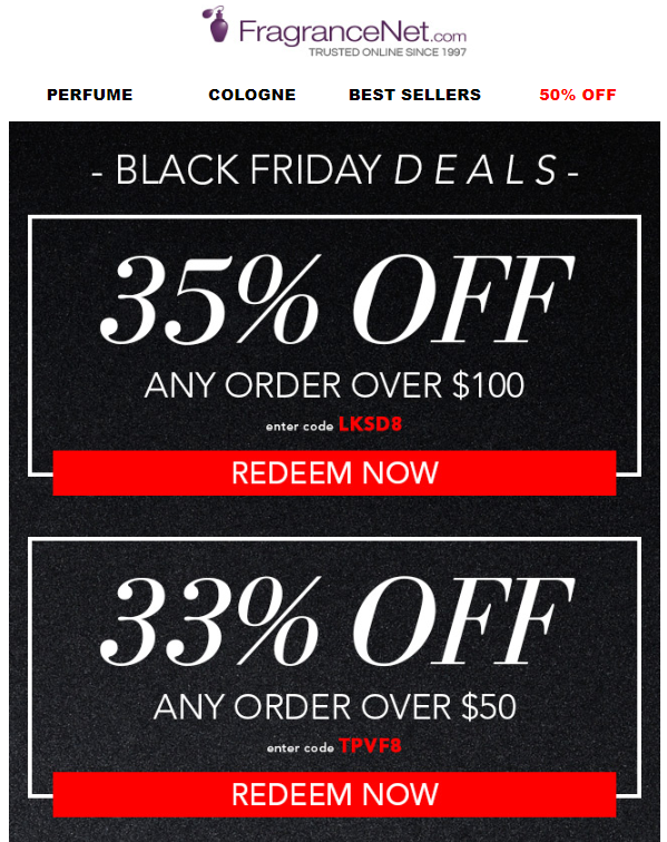 FragranceNet Black Friday 2018 1 - FragranceNet Black Friday 2020