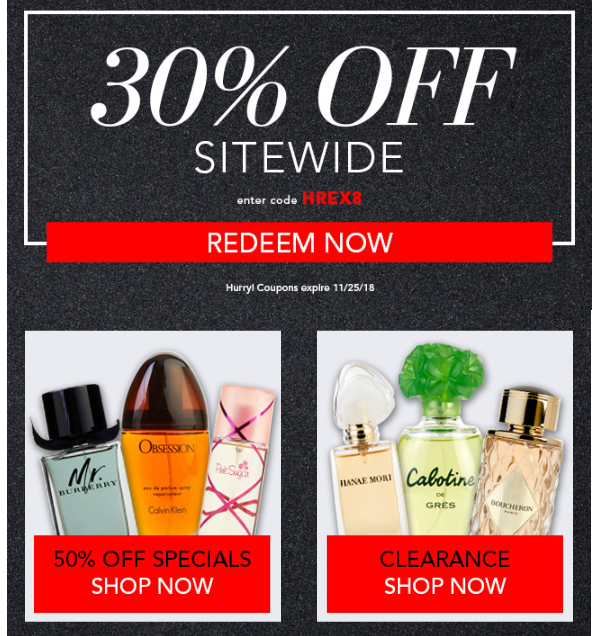 FragranceNet Black Friday 2018 2 - FragranceNet Black Friday 2020