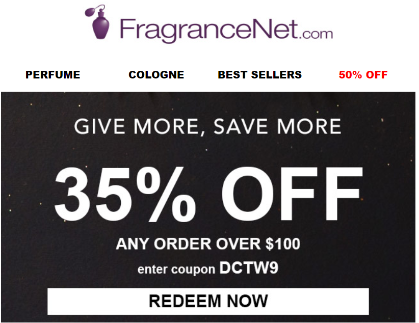 FragranceNet Black Friday Sale 2019 1 - FragranceNet Black Friday 2020