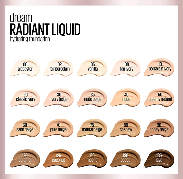 MAYBELLINE DREAM RADIANT LIQUID FOUNDATION OPENS PRE SALE 2 - MAYBELLINE DREAM RADIANT LIQUID FOUNDATION OPENS PRE-SALE