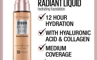 MAYBELLINE DREAM RADIANT LIQUID FOUNDATION OPENS PRE SALE 320x200 - MAYBELLINE DREAM RADIANT LIQUID FOUNDATION OPENS PRE-SALE