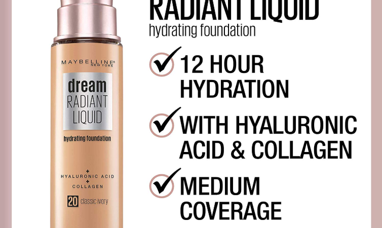 MAYBELLINE DREAM RADIANT LIQUID FOUNDATION OPENS PRE SALE 754x450 - MAYBELLINE DREAM RADIANT LIQUID FOUNDATION OPENS PRE-SALE