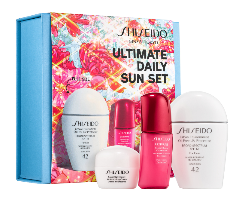 SHISEIDO ULTIMATE DAILY SUN SET - Sephora Luxe Sets for Holiday 2019