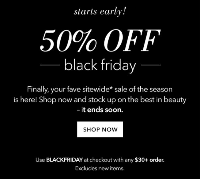 e.l.f. Cosmetics Black Friday 2016 1 - e.l.f. Cosmetics Black Friday 2019