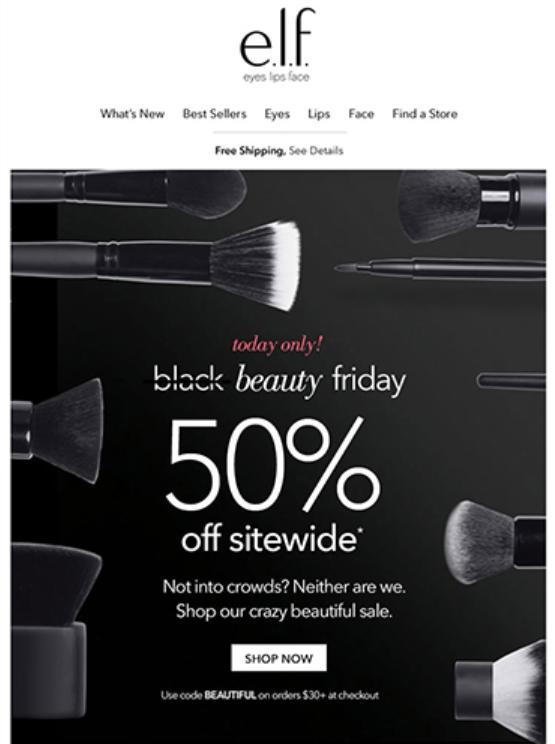e.l.f. Cosmetics Black Friday 2017 - e.l.f. Cosmetics Black Friday 2019