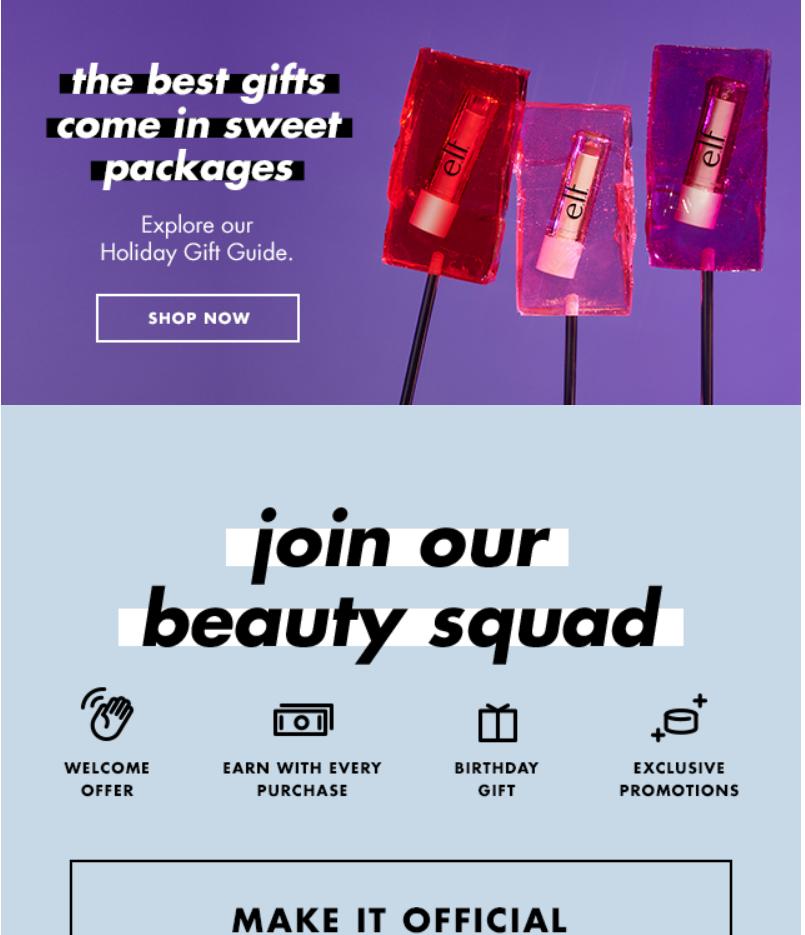 elf Cosmetics s Black Friday Sale 2019 2 - e.l.f. Cosmetics Black Friday 2019