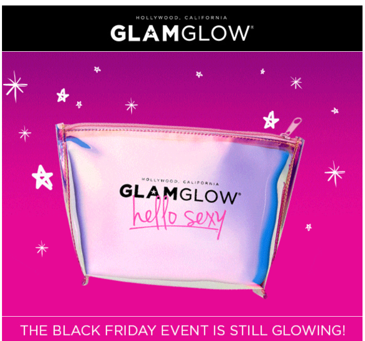 GLAMGLOW s Black Friday Sale 2019 1 - GLAMGLOW Black Friday 2019
