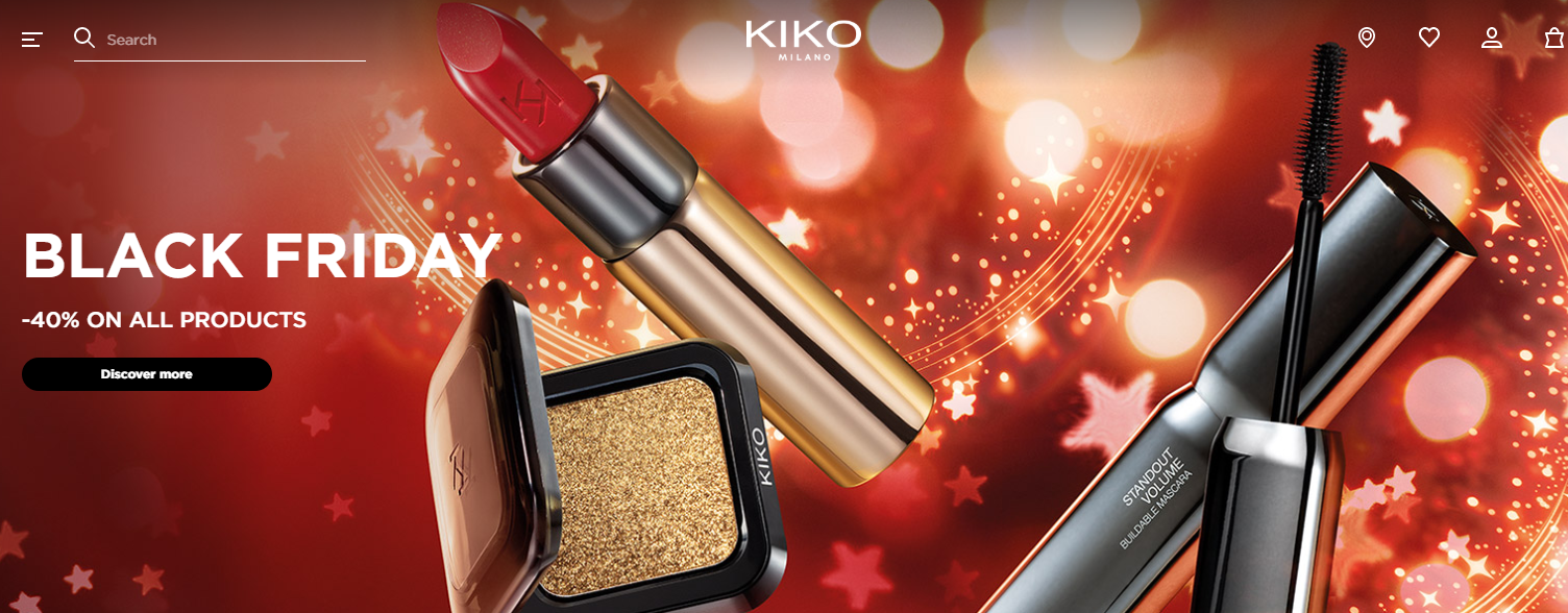 Kiko Cosmetics s Black Friday Sale 2019 1 - Kiko Cosmetics Black Friday 2020