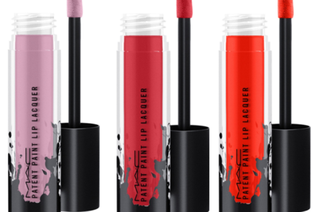 MAC COSMETICS NEW PATENT PAINT LIP LACQUER 450x300 - MAC COSMETICS NEW PATENT PAINT LIP LACQUER