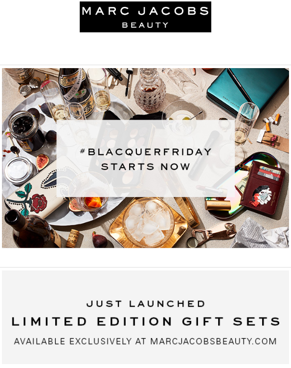 Marc Jacobs Beauty Black Friday 2016 1 - Marc Jacobs Beauty Black Friday 2020