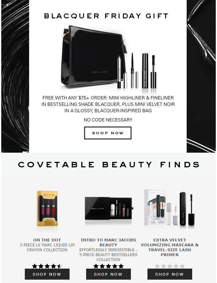 Marc Jacobs Beauty black friday sale 2019 6 - Marc Jacobs Beauty Black Friday 2020
