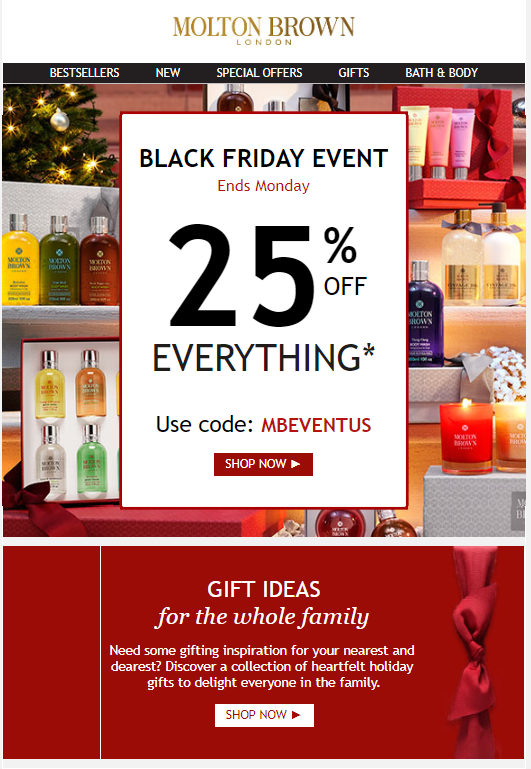 Molton Brown Black Friday 2015 1 - Molton Brown Black Friday 2019